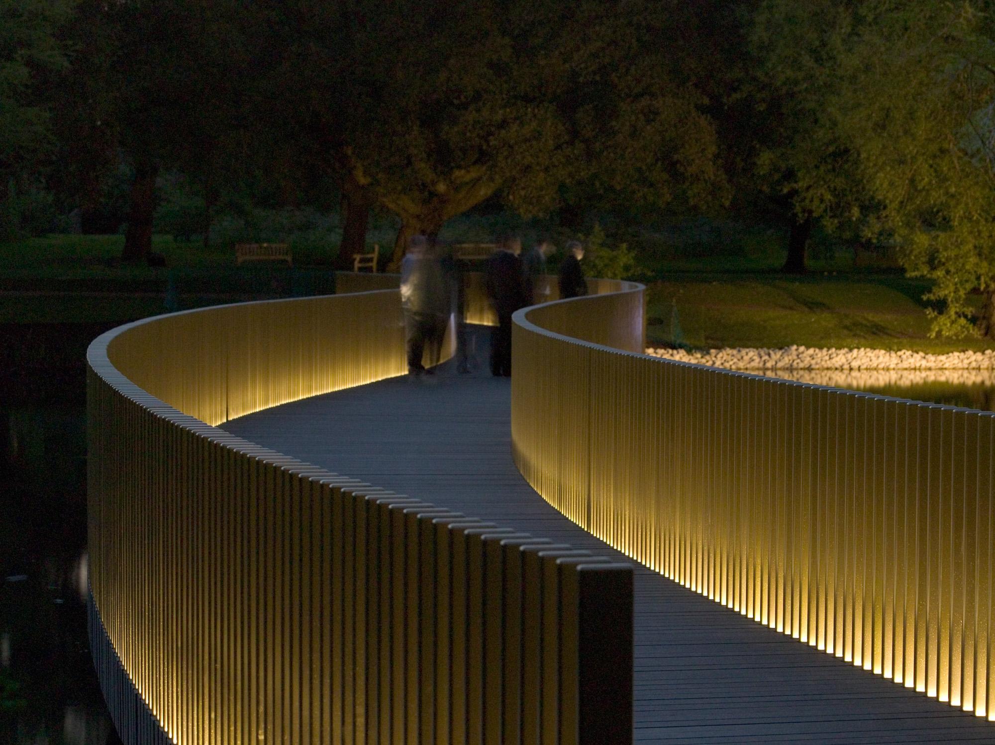 John Pawson A Walk Across The Water After Dark
