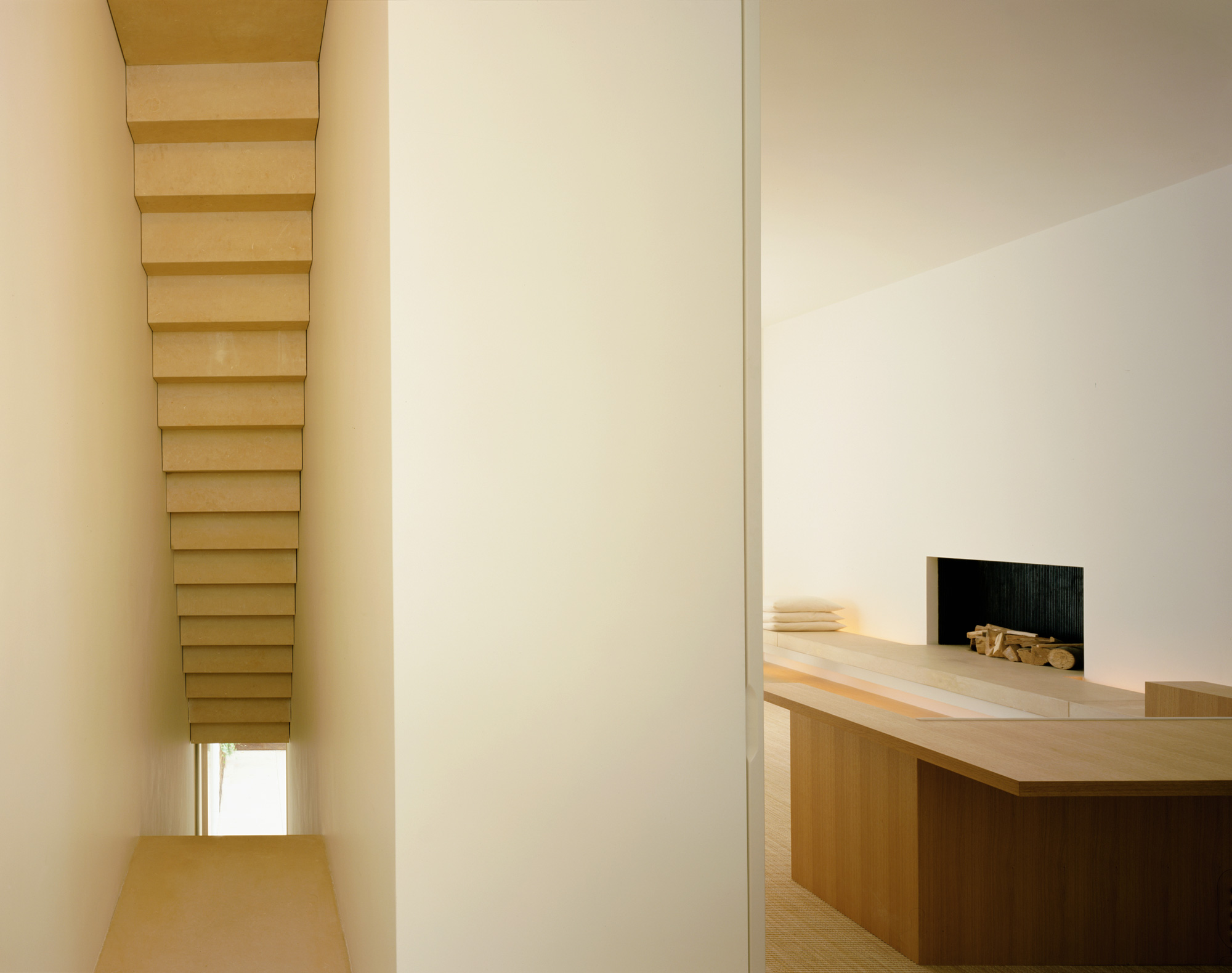 John pawson pawson house for Minimalist house london