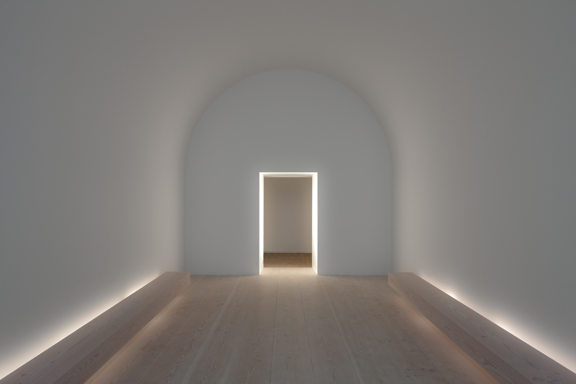 John pawson plain space exhibition for Space architecture and design
